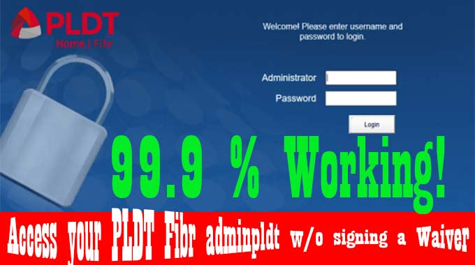 PLDT Default Admin Password and Username (Fibr, DSL, Ultera)  [Updated]